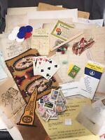 Vintage Ephemera Lot Mixed Media Lot Collage Junk Journal Paper Craft #35
