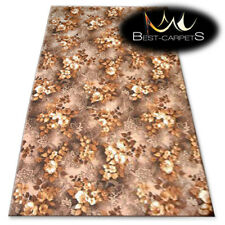 CHEAP & QUALITY CARPETS Feltback WILSTAR brown Bedroom Large RUG ANY SIZE