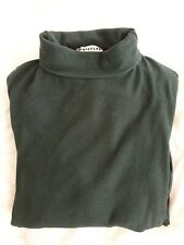 Whistles Essential Size 12 Dark Green Polo Neck Jumper