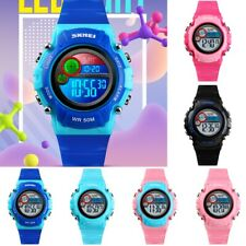 SKMEI Kids Waterproof Sport LED Luminous Digital Alarm Watch For Girl Boys Watch