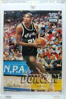 Rare: 1997 97-98 Fleer Crystal Tim Duncan RC Rookie #201, San Antonio Spurs HOF