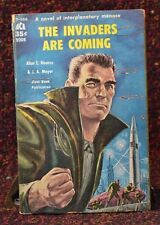 The invaders are Coming Alan Nourse JA Meyer Ace Book Sci-Fi Interplanetary 1959