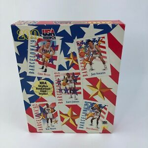 Vintage 1992 USA Basketball 200 Piece Poster Puzzle Brand New Sealed