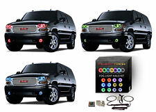 RGB Multi-Color LED Halo Ring Fog Light Kit for GMC Yukon 01-06 IR Remote