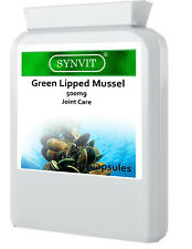 Green Lipped Mussel 500mg 90 Capsules Joint Health SYNVIT®