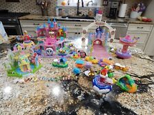 Disney Magical Miniatures Polly Pocket Playset Two Castles Small Wold Peter Pan