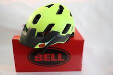 New Bell Stoker Mountain Bike Helmet Medium Matte Retina Sear Neon Yellow MTB XC