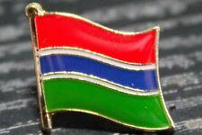 GAMBIA Gambian Metal Flag Lapel Pin Badge *NEW*
