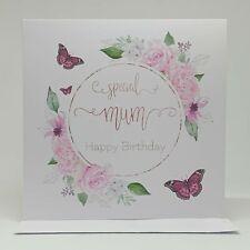 Special Mum   Happy Birthday   Birthday Greeting Card for Mum   Handmade Card