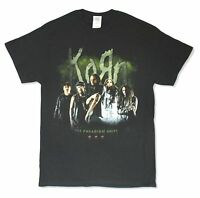 "KORN ""TPS TOUR 2014"" BLACK BAND T-SHIRT NEW OFFICIAL ADULT"