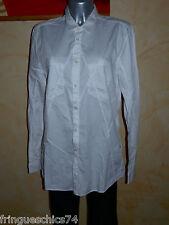 luxueuse chemise blanche homme HIGH USE T M (44) NEUVE ETIQUETTE