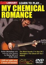 Lick Library Learn To Play My Chemical Romance adolescentes Rock lección Guitarra Dvd