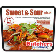 250g of Sticky Sweet & Sour Glaze Marinade Meat Rub Coater Butchers-Sundries