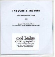 (AP49) The Duke & The King, Still Remember Love - DJ CD