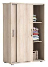 Kleiderschrank B 68 H 106cm Wäscheschrank Schiebetüren Kinderzimmer Jugendzimmer