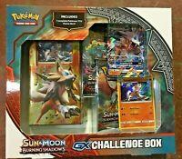 Pokemon Sun & Moon Burning Shadows GX Challenge Box TCG Theme Deck Sealed New