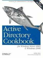 Active Directory Cookbook for Windows Server 2003 and Windows 2000