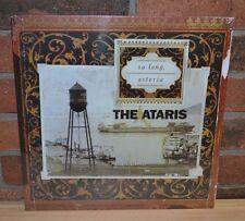 THE ATARIS - So Long, Astoria, Ltd COKE BOTTLE CLEAR VINYL LP + Insert New