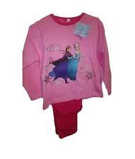 Pyjamas rose à manches longues pour fille de 2 à 16 ans