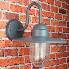 Maritime Wandaußenleuchte Wandlampe für Hof Garten IP44 anthrazit Außenlampe Neu