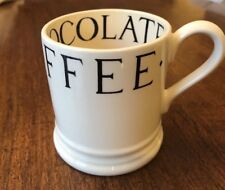 EMMA BRIDGEWATER BLACK TOAST TEA COFFEE 1/2 PINT MUG RARE RETIRED NEW