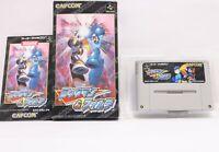 Rockman and Forte Megaman capcom nintendo Super Famicom SNES Japan retro game