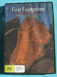 FIRST FOOTPRINTS DVD Documentary/Indigenous  All Region see below