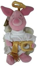 Disney Store Choir Angel Piglet Plush Mini Bean Bag Stuffed Animal Toy