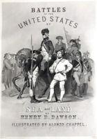 REVOLUTIONARY WAR PATRIOT SOLDIERS ALEXANDER HAMILTON ~ 1860 Art Print Engraving