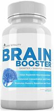 Mind And Memory Natural Brain Function Booster Supplement For Focus