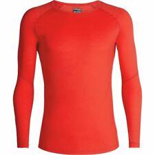 Icebreaker Merino 150 Zone LS Crew Shirt (M) Chili Red