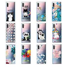 Para Samsung A40S S10 M30 M20 M10 A70 A60 A50 suave TPU Silicona Teléfono Estuche Cubierta