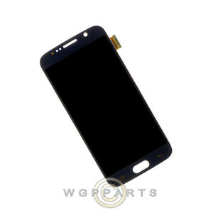 LCD Digitizer Assembly for Samsung Galaxy S6 Black Sapphire Front Glass Touch