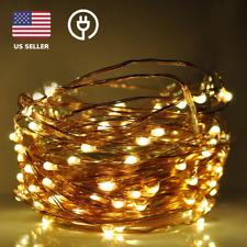 Flexible Christmas Tree LED Fairy String Party Lights Lamp Xmas Waterproof