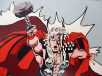 Marvel Comics Mighty Thor advertising piece Vintage Rare Comic Book Promo 1992