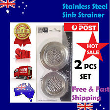 Stainless Bathroom Sink Basin Drainer Strainer Drain Waste Plug Stopper Miracle