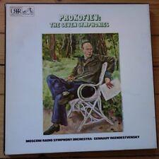 SLS 844 Prokofiev The Seven Symphonies / Rozhdestvensky / MRSO 6 LP box set