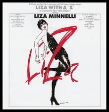 LIZA MINELLI - LIZA WITH A ' Z ' CD Album ~ LIVE 70's TELEVISION CONCERT *NEW*