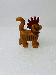 lego minifigure animal land cat scarfield spiky mohawk