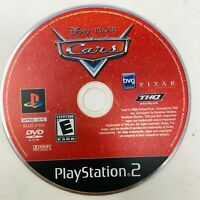 Disney Pixar Cars PS2 Sony PlayStation 2, 2006 Disc Only Tested Works