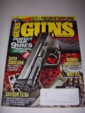 GUNS Magazine, May, 2016, M&P 9 C.O.R.E. PC SHIELD, RUGER 77/17 .17 WSM, AR-17!