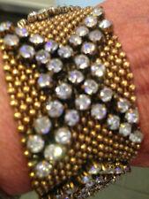 Alloy Crystal Cuff Costume Bracelets