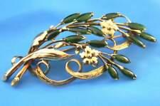 Brooch Pin 9.12g not scrap Victorian Antique 14K Solid Gold Handmade