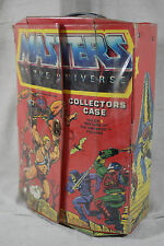 1980's He-Man Masters of the Universe Action Figure Collectors Case MOTU 1984