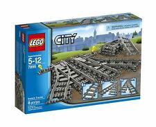 LEGO 7895 City Series Switch Points & Curve Train Track Expansion Set NEW SEALED
