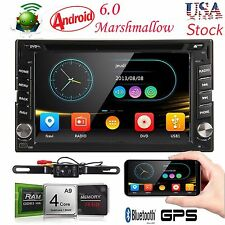 "GPS Navi Android 6.0 4G WIFI 6.2""Double 2 DIN Car Radio Stereo DVD Player+Camera"