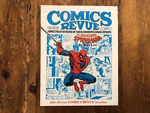 Comics Revue Vol 1 No #19 1987Strip Reprints Amazing Spider-Man Cover Marvel Mag