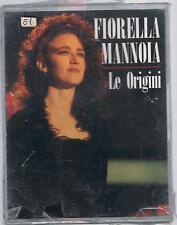 FIORELLA MANNOIA LE ORIGINI DOPPIA MC K7 MUSICASSETTA