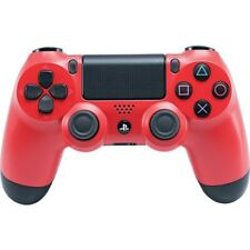 Open Box: Sony DualShock 4 Wireless Controller for PS4 Magma Red  -  Wireless, B