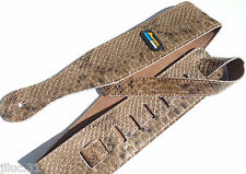 NEW Sangle CROCO - cuir -  pour guitare ou basse